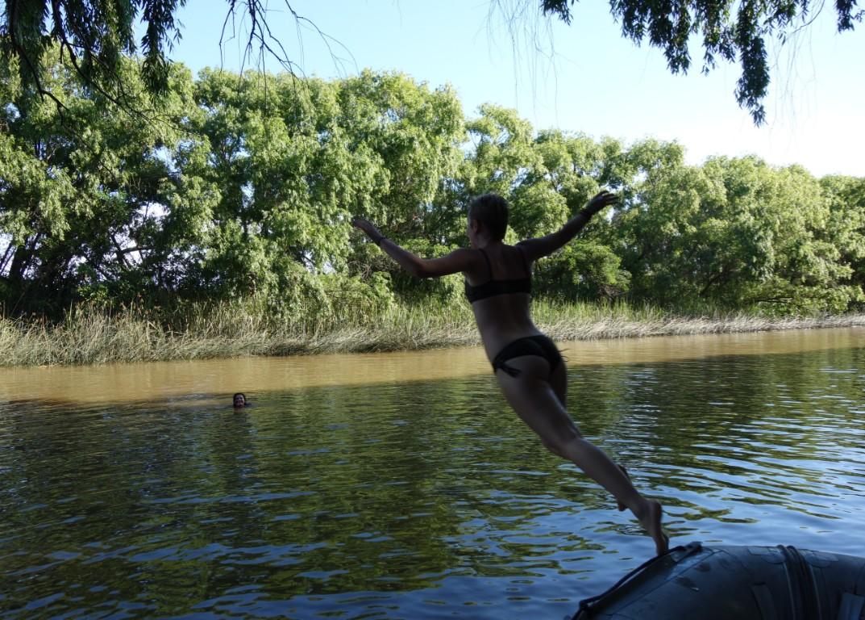 swimming in tigre delta