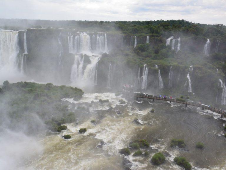 Iguassu water falls