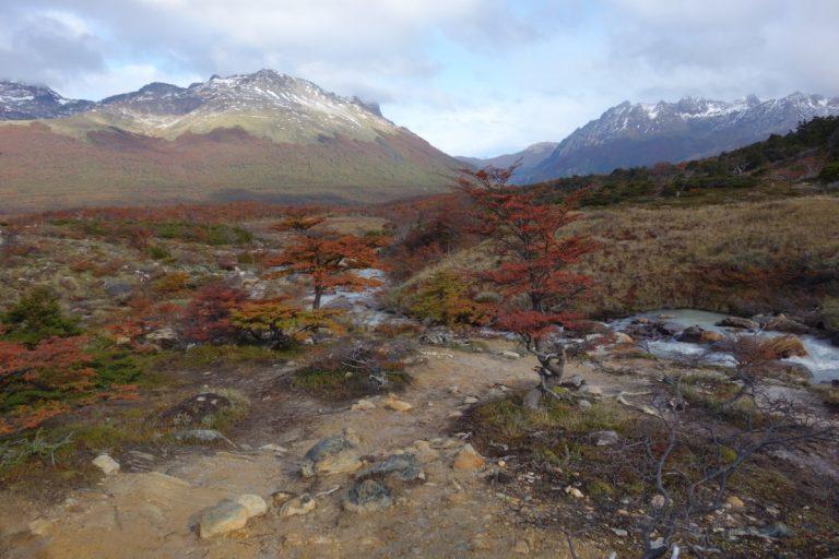 spring esmeralda lagoon ushuaia