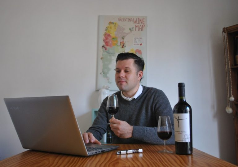online wine tatsing
