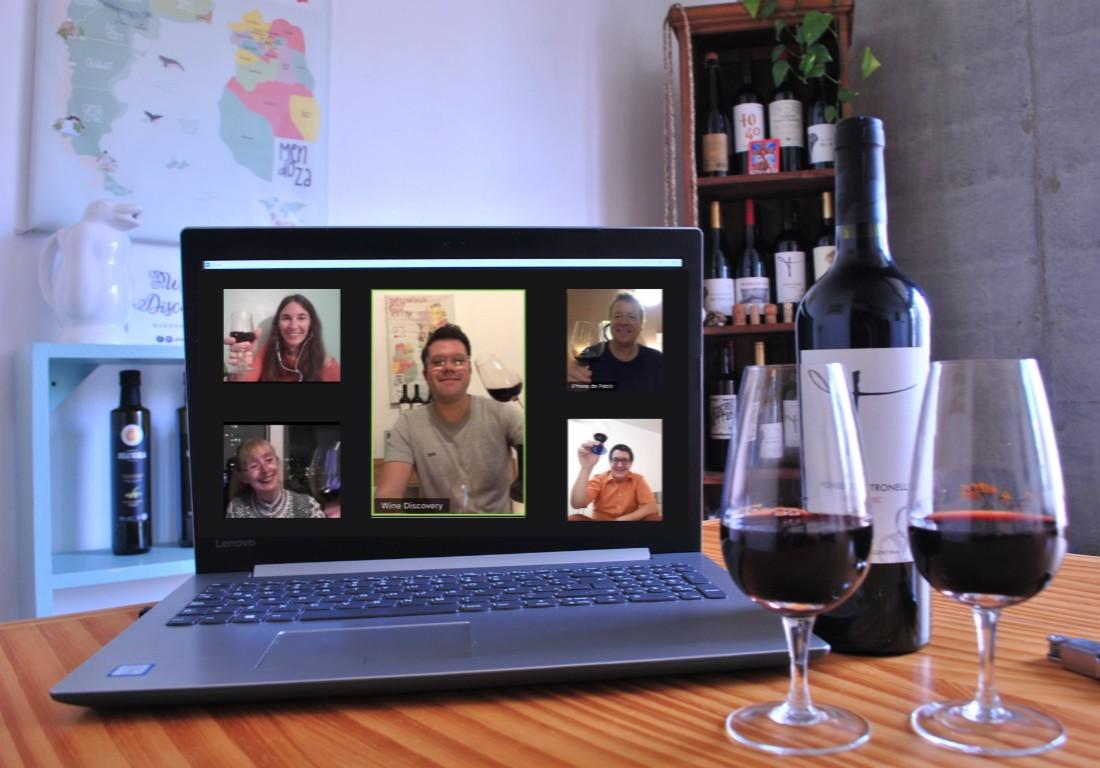 online wine tasting