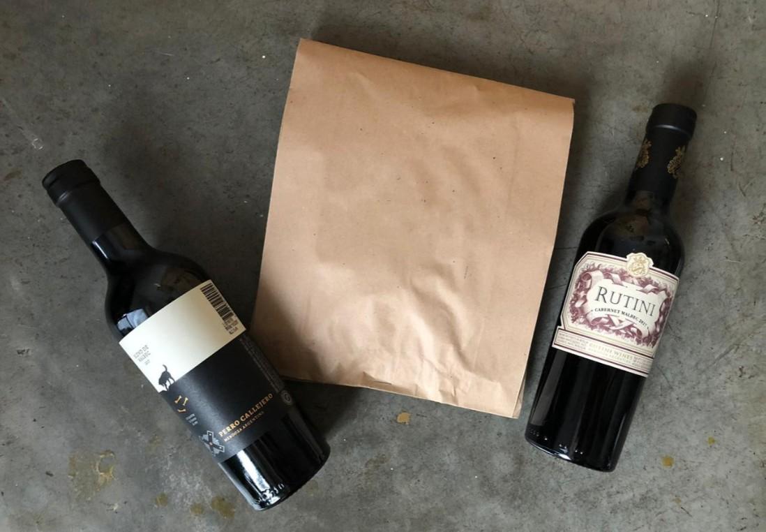 paquete vino empanadas
