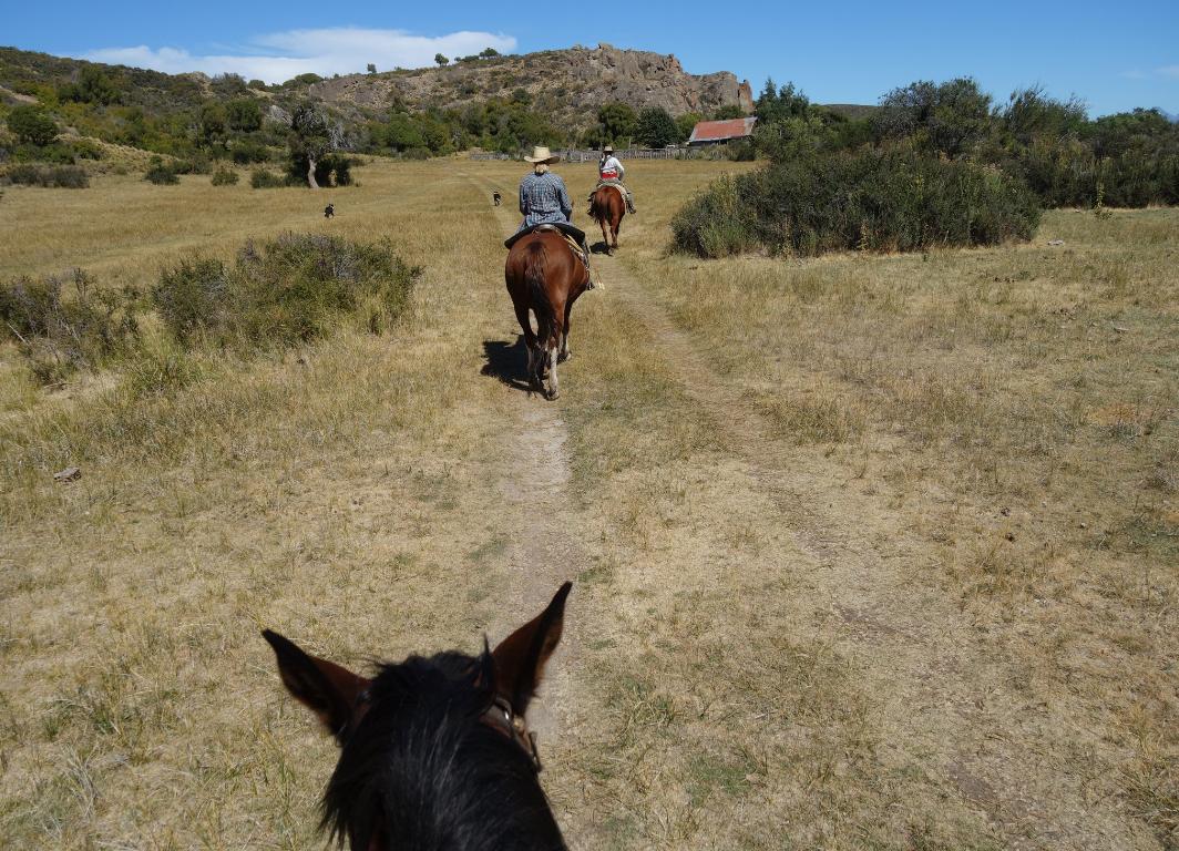 andar a caballo Bariloche aventura