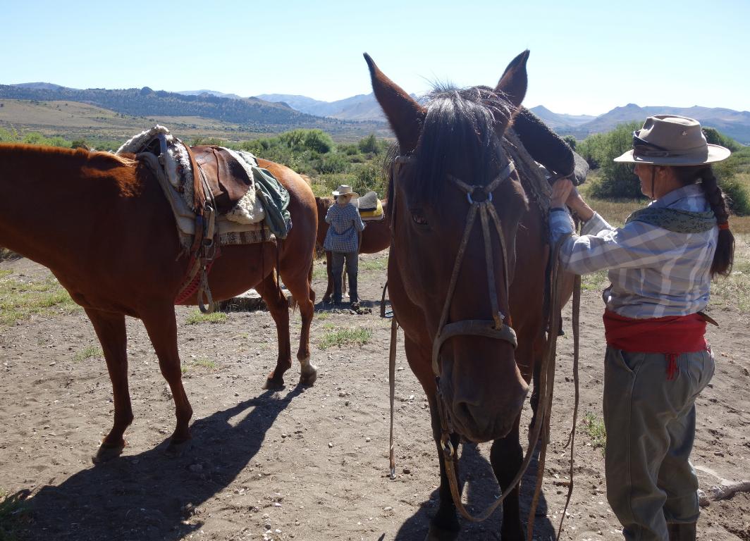 cabalgata bariloche excursion con carol jones